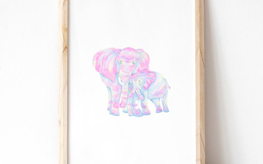 Elephant Mockup II