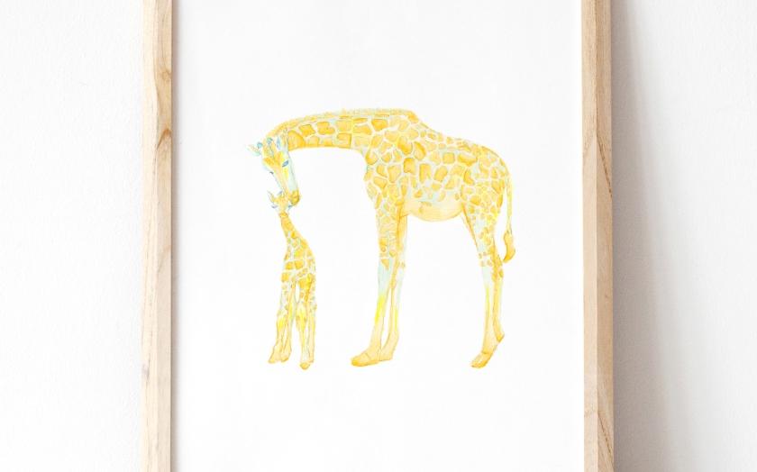 Giraffe Mockup II